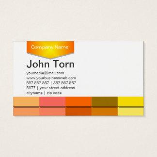 Yellow Gems Business Card
