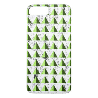 Yellow Geometric Distressed Pattern iPhone 8 Plus/7 Plus Case