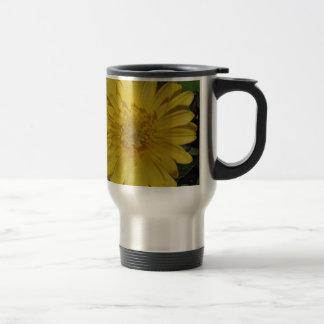 Yellow Gerber Gerbera Daisy Coffee Mugs