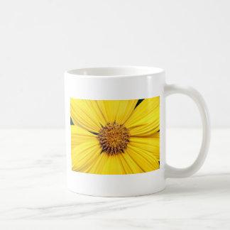 Yellow Gerbera Daisy Background.jpg Basic White Mug