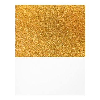 Yellow glitter custom flyer