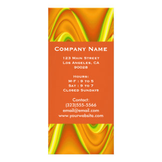 yellow gold abstract rack cards