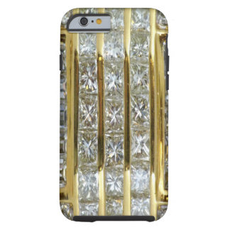 Yellow Gold and Diamond Art iPhone 6 case Tough iPhone 6 Case