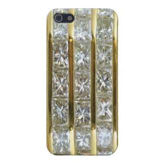 Yellow Gold and Diamonds Fantasy Speck iPhone 4 Ca iPhone 5 Case
