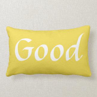 Yellow Good Morning Lumbar Pillow 1 of 2