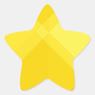 yellow gradient monochrome grid summer sun bright star sticker