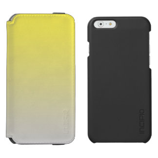 Yellow & Gray Ombre Incipio Watson™ iPhone 6 Wallet Case