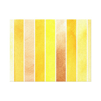 yellow great watercolor background - watercolor canvas prints