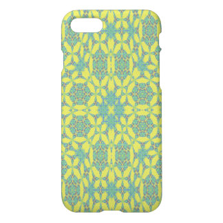 Yellow Green cool pattern iPhone 8/7 Case
