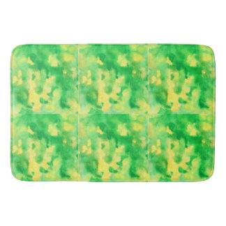 Yellow Green Large Bath Mat