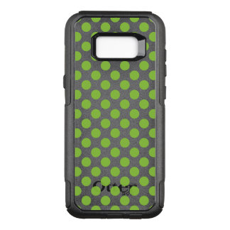 Yellow Green Polka Dots OtterBox Commuter Samsung Galaxy S8+ Case