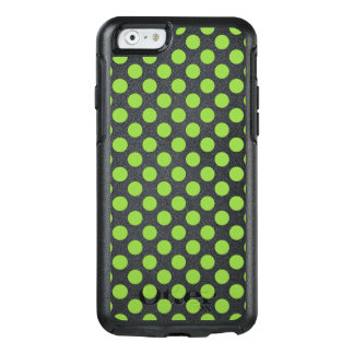 Yellow Green Polka Dots OtterBox iPhone 6/6s Case
