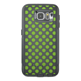 Yellow Green Polka Dots OtterBox Samsung Galaxy S6 Case