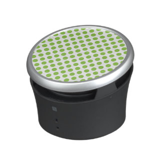 Yellow Green Polka Dots Speaker