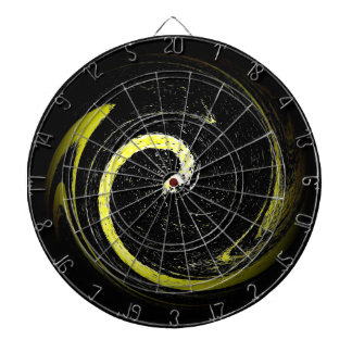 Yellow Green Snake Dartboard