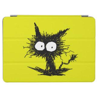Yellow Green Unkempt Kitten GabiGabi iPad Pro Cover
