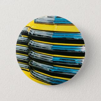Yellow Grill 6 Cm Round Badge