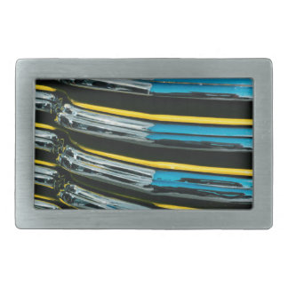 Yellow Grill Belt Buckles