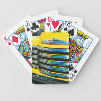 Yellow Grill Bicycle Playing Cards