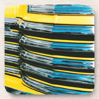 Yellow Grill Coaster