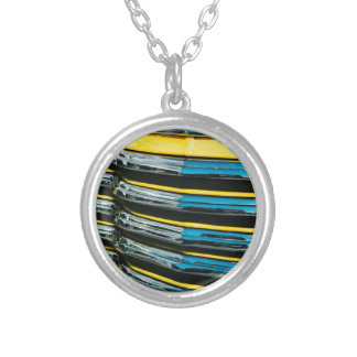 Yellow Grill Silver Plated Necklace