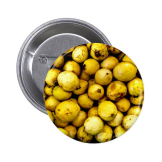 Yellow Guava 6 Cm Round Badge