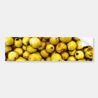 Yellow Guava Bumper Sticker