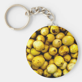 Yellow Guava Key Ring