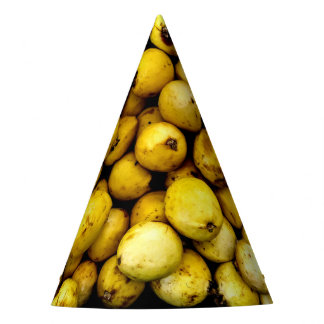 Yellow Guava Party Hat