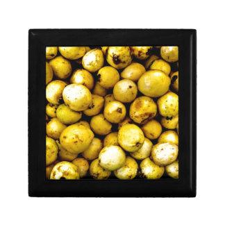 Yellow Guava Small Square Gift Box