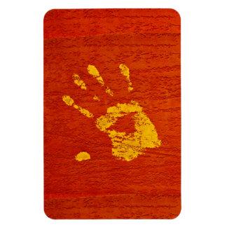 Yellow Hand Magnet