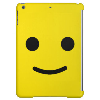 Yellow Happy Smiley Face iPad Air Covers
