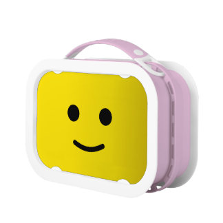 Yellow Happy Smiley Face Lunch Boxes
