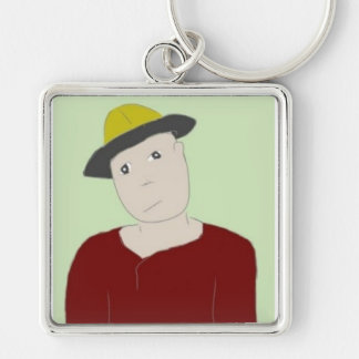 Yellow Hat  Keychain