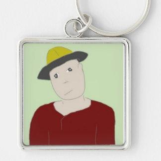Yellow Hat  Keychain