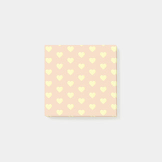 Yellow Hearts Post-it Notes