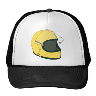 Yellow Helmet Cap