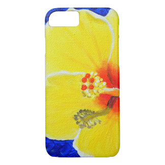Yellow Hibiscus Flower iPhone 8/7 Case