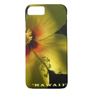 Yellow Hibiscus Hawaiian Style iPhone 7 Case