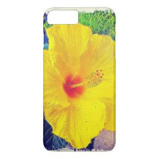 Yellow Hibiscus iPhone 7 Plus Case
