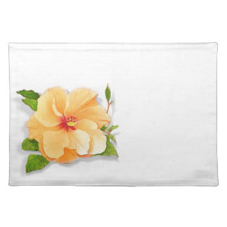 Yellow Hibiscus Placemat