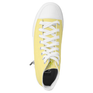 Yellow High Top Shoes