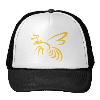 Yellow Hornet Logo Hat