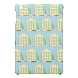 Yellow houses iPad mini cases