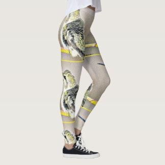Yellow Hummer Women's Leggings