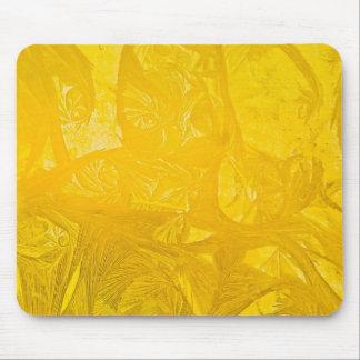 Yellow Ice Mousepad
