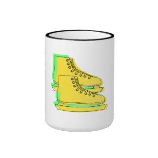 Yellow Ice Skates Mug