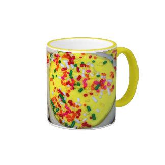Yellow Iced Sugar Cookies w/Sprinkles Coffee Mug