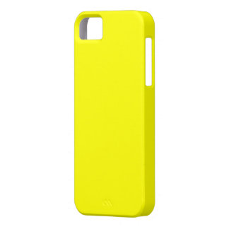 Yellow iPhone 5 Case-Mate Barely There™ Case iPhone 5 Covers