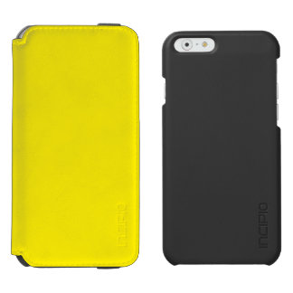 Yellow Incipio Watson™ iPhone 6 Wallet Case